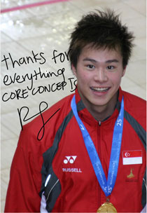 Russell Ong - SEA Games Gold Medalist